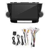 10.2 Inch voor Android 8.1 Auto Stereo Radio Quad Core 1 GB + 16 GB Touchscreen GPS WiFi voor Toyota Highlander 2009-2013_
