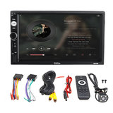 7010plus 7 inch 2 Din Touch Car MP5 speler bluetooth stereo FM-radio USB TF AUX_