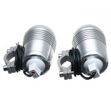 Pair 30W DC 12-60V Motorcycle Headlight U2 LED Driving koplamp Fog Light + Switch High / Low Beam_