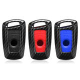 Carbon Remote Key Fob Case Shell Cover Voor BMW 1 2 3 4 5 6 7 Serie AU_