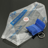CPR Mask Emergency Resuscitator 1-Way Valve Face Shield 6 Colors_