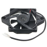 116x116mm Electric Engine Cooling Fan Radiator For Motorcycle ATV Go Kart Quad_