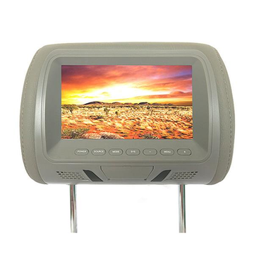M-7667 7 inch Car Head Rest Monitor HD LCD-scherm met kleurenscherm