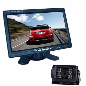7 inch TFT LCD Monitor + Bus Lorry Night Vision Achterzijde Waterdicht Camera + 10m videokabel