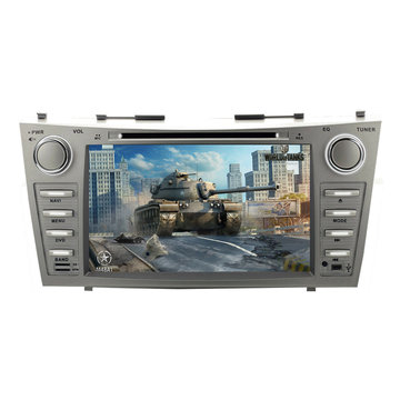 "8 ""2 Din Auto CD / DVD / MP4 / MP5 FM-speler WINCE 6.0 GPS bluetooth Radio Stereo voor Toyota Camry 2007-2011"