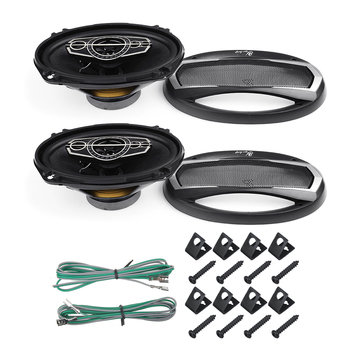 "12V 6X9 ""1000W Full Range Horn Auto Speaker Ring High Woofer"