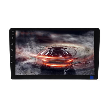 T3 10.1 Inch voor Android 8.1 Auto MP5 speler Quad Core 1 + 16G Stereo radio GPS Bluetooth WiFi achterzijde Carema