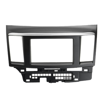 Auto Stereo Single Double Din Dash kabelbomen set voor Mitsubishi Lancer 2007-2013
