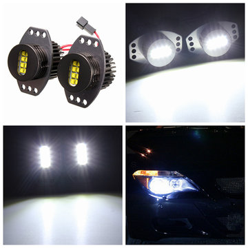 64W Angel Eyes Koplamp XENON LED Halo Voor BMW E90 E91 06-08 White Lamp
