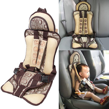 Baby Car Safety Seat Protable Safety Child Carrier Chair Protection Belt Strap