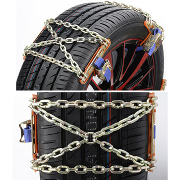 1pcs Wheel Tire Snow Anti-skid Chains for Car Truck SUV Emergency Winter Universal