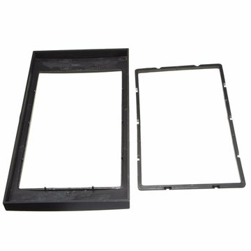 Car Stereo Panel Plate 2DIN Fascia Panel Adapter Voor 06-on Ford Focus Transit