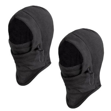 2x Motorcycle CS Face Mask Winterbescherming Stof Wind Bewijs Sjaal
