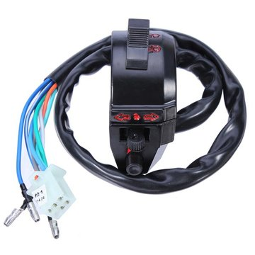 Motorcycle Turn Signal Switch Electrical Ignition Switch for SL-XJT GN