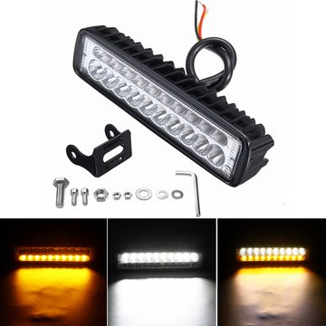 6inch 80W 20 LED 12V Werklamp Flood Beam Rijden Mist Koplampen Lamp Bar Motorfiets Auto SUV Off-road