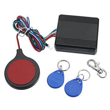 Motorcycle Alarm Security Anti-diefstal RFID Verborgen Lock IC-kaartsysteem