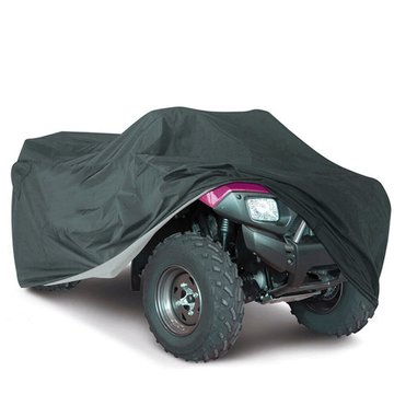 210T Waterproof Black Dustproof Cover ATV Quad Vehicle Scooter Motorbike M/L/XL/XXL/XXXL