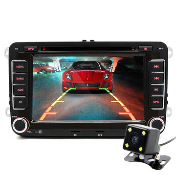 Junsun 7 Inch 2 Din Car DVD GPS Radio-speler voor VW Golf 5 6 Touran Passat B6 Sharan Jetta Polo