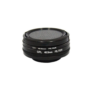 SJCAM SJ8 Air PLUS PRO 40,5 mm 4 in 1 CPL UV Lensfilterdop