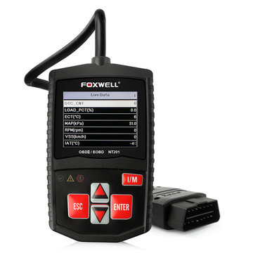 Foxwell NT201 OBD2 Auto Scanner Automotive OBD OBDII Motor Fault Code Reader Diagnostic Tool