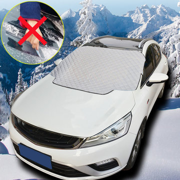 114 X 142cm Universele voorruit Cover Frost Ice Snow Sun UV Stofkap Shield Window Protector