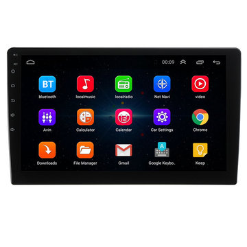 Universal 10 Inch Voor Android 8.0 Autoradio Stereo Quad Core 2 + 32 GB GPS Navigatie Wifi FM AM RDS DAB DTV