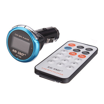 Car FM Transmitter MP3 Player AY-T68 4GB with Remote Controller