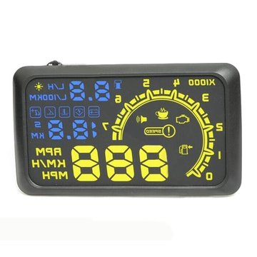 De Fourth Generation ActiSafety HUD Head Up Display OBD2 Interface