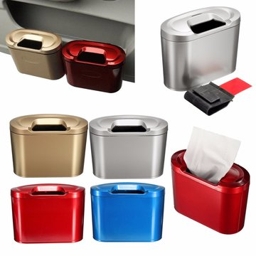 Car Trash Can Bin Garbage Opbergdoos Multifunctionele Voertuig Container Dustbin