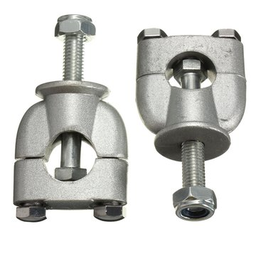 1Pair 22mm 7 / 8Inch Handlebar Riser Mount Clamps Voor Motorfiets Vuil Bike ATV