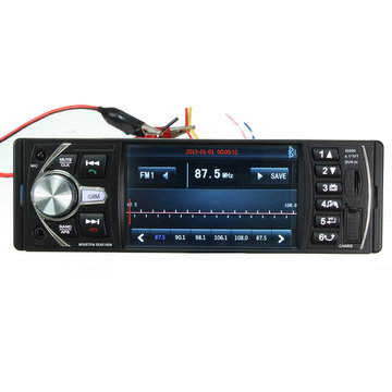 4,1 inch HD Bluetooth In Dash Auto Stereo Audio MP5 MP3 Speler USB AUX FM AM Radio