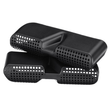 2 Stks ABS Autostoel Floor Vent Air Outlet Duct Grille Cover voor BMW X3/X4 2011-2017