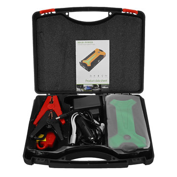 TM15B 13800 mAh Auto Jump Starter Powerbank Batterij Booster Pack met LED-zaklamp USB-oplaadpoort