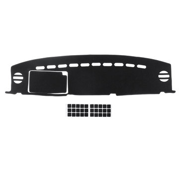 Black Car Dash Mat Dashmat Dashboard Cover Pad Sunshade for TOYOTA FJ CRUISER 2007-2014
