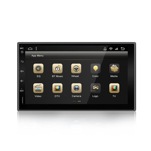 YUEHOO 7 Inch 2 DIN voor Android 9.0 Auto Stereo Radio 8 Core 4 + 32G Touchscreen 4G WIFI bluetooth FM AM RDS GPS