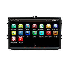 YUEHOO 9 Inch 2 DIN voor Android 8.0 4 Core 2 + 32G Auto Stereo Radio Speler GPS Touchscreen 4G bluetooth FM AM RDS DAB + voor VW Skoda