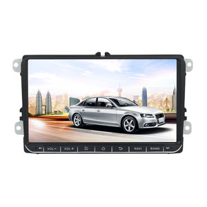 9 Inch 2 DIN voor Android 8.1 Auto Stereo Quad Core 1 + 16G Radio Touchscreen GPS bluetooth WIFI voor VW Skoda Seat