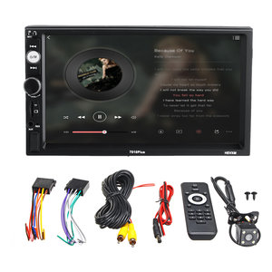 7010plus 7 inch 2 Din Touch Car MP5 speler bluetooth stereo FM-radio USB TF AUX