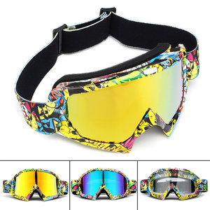 Motorcycle Racing Goggles Anti-condens Anti-Scratch Volwassen Snowboard Skibril
